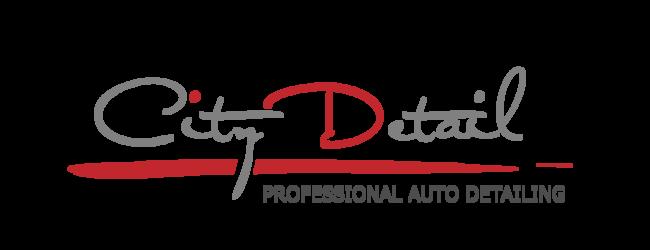 City Detail Professional Auto Detailing Logo